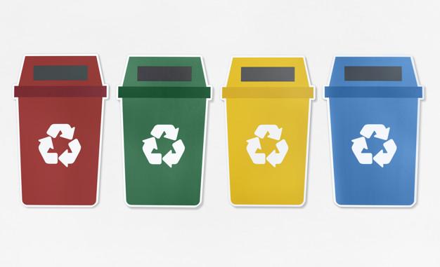 Les bacs à poubelles
