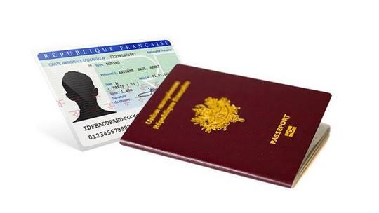 Carte d'identité & Passeport