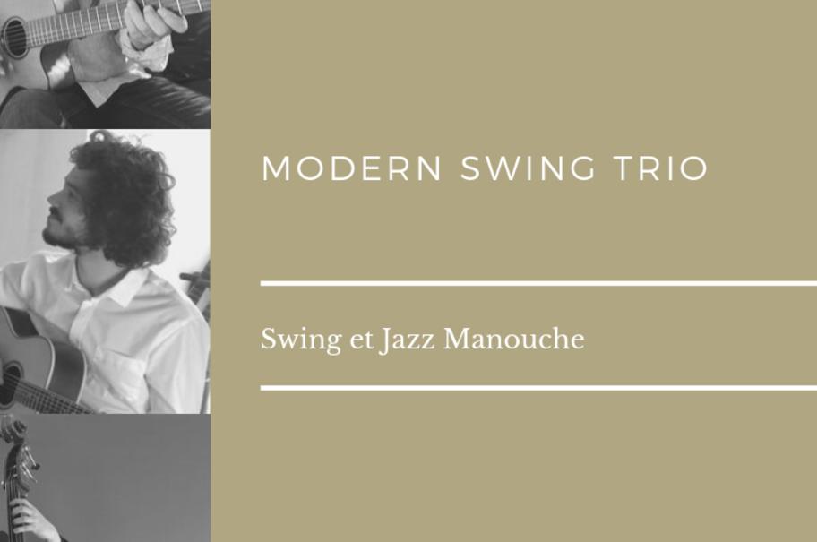 Modern Swing Trio au marché Nocturne
