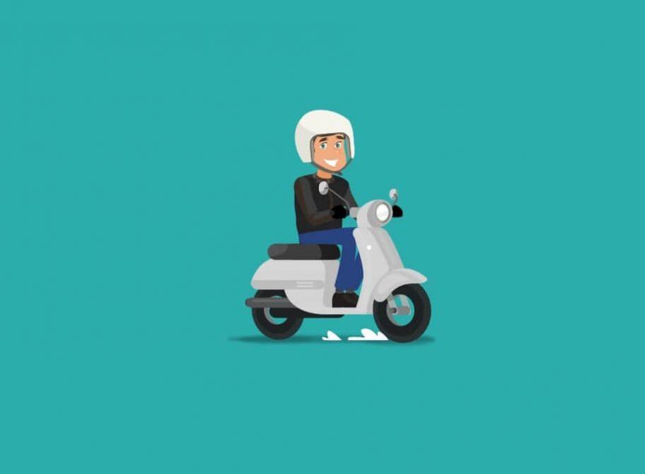 Le Vexin en scooter