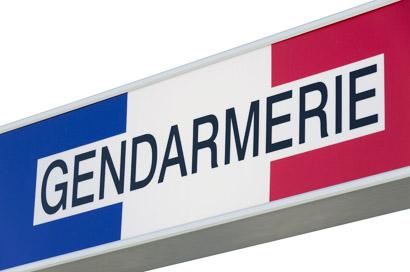 La gendarmerie à Fontenay-Saint-Père